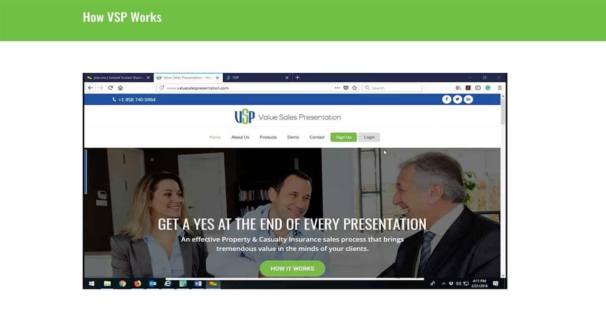 value-sales-presentation-demo